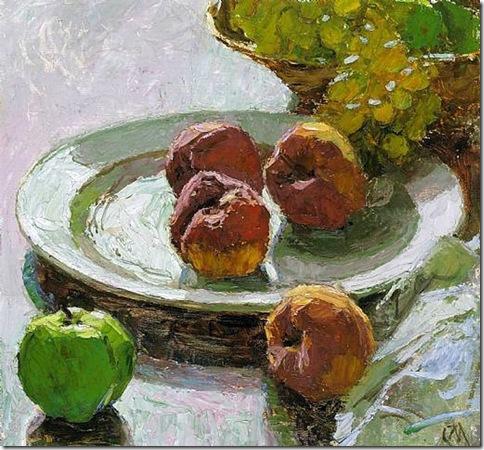 carl-moll_Stilleben mit Früchten