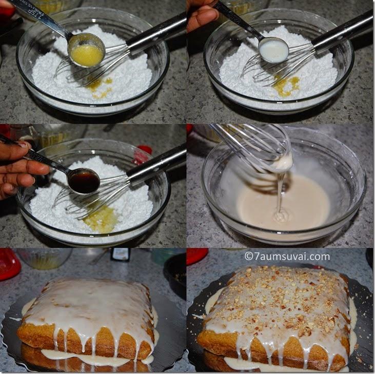 Vanilla glaze process