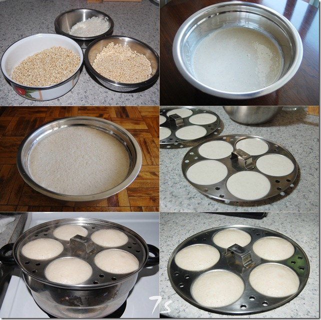 Whole wheat grain idly process