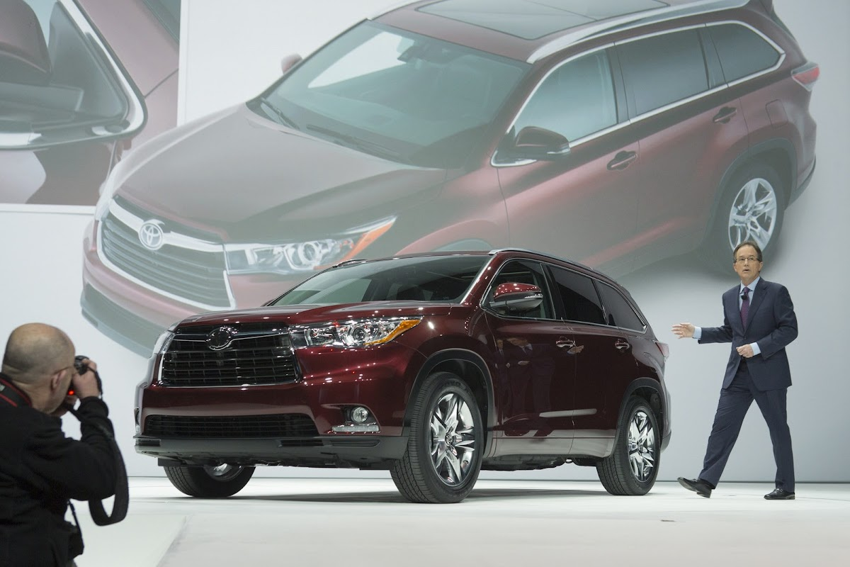 group vice president and general manager toyota division introduces the all