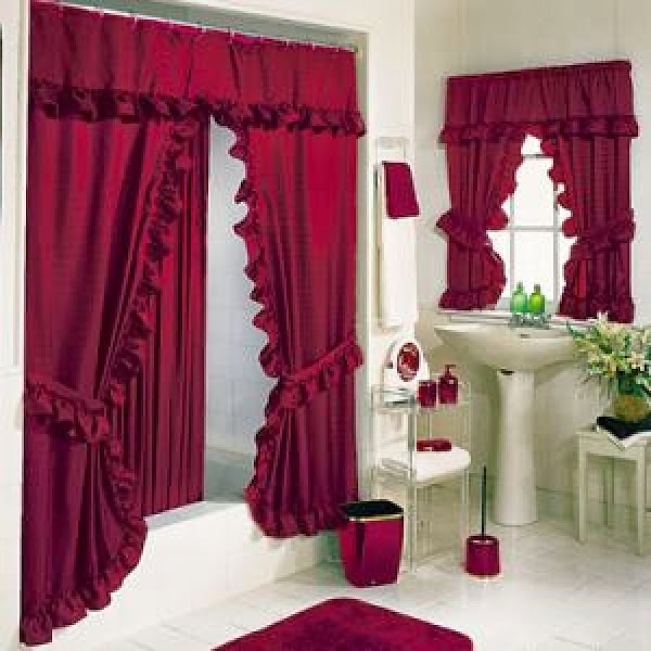 Bathroom Curtains Bathroom Shower Curtains