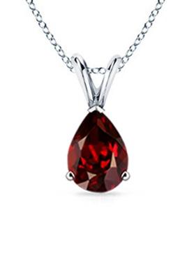 Free Garnet Gemstone Pendant