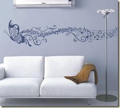 adesivo parede sala