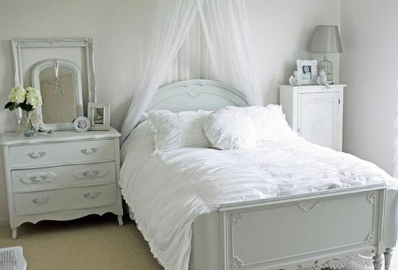 Utilice tejidos cálidos en su dormitorio de invitados