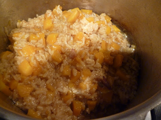 Risotto -it's almost ready!
