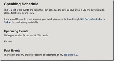 speakschedule
