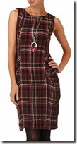 Phase Eight Sleeveless Plaid Dress