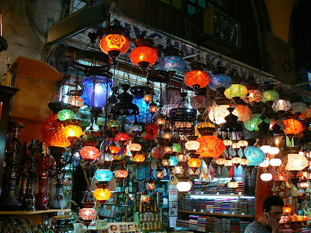 Istanbul: Chandeliers shop