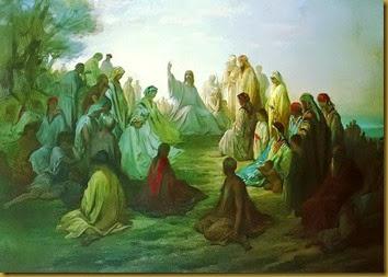 JESUS PREDICA EN CAFARNAUM