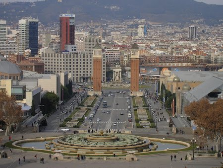 Things to do in Barcelona: see Praca Espanya