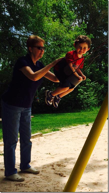 Knox Granny swing Cinderella Park 5 3 14