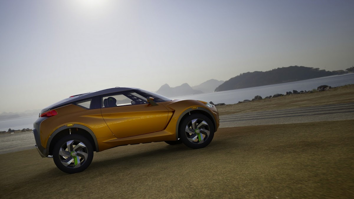 Nissan unveils extrem concept for an urban rally car at sao nissan extreme concept cuv 4 vanachro Gallery