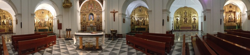 The Chapel of the English College, Valladolid