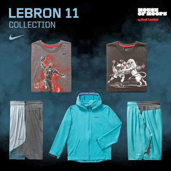 Release Reminder Nike LeBron XI Gamma Blue Collection