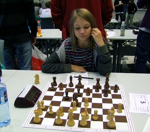 OSSU Girls førstebordspiller, Maud.