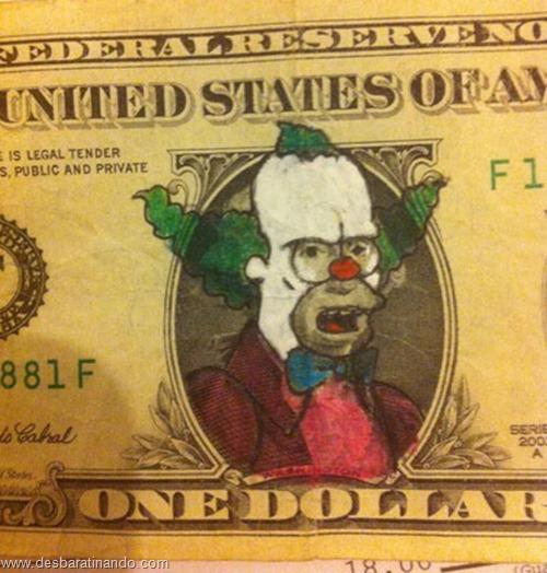 notas cédulas dollar geek nerd zoada desbaratinando  (7)