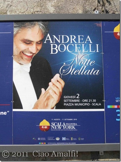 Ciao Amalfi Scala Meets New York Bocelli