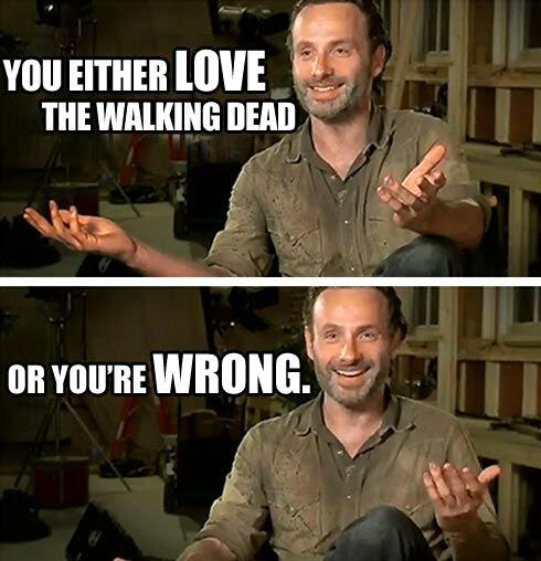 Love Walking Dead funny image