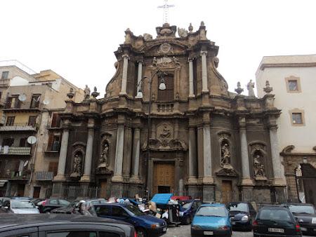 Obiective turistice Sicilia: Palermo - Basilica