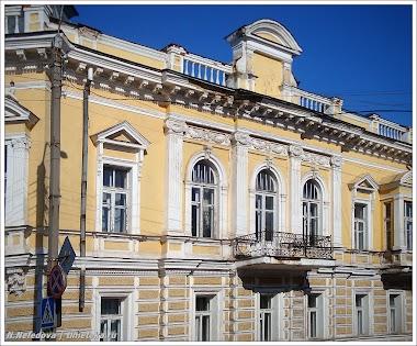 Дворянский особняк по проекту К.Ф. Шольца, г.Рыльск.