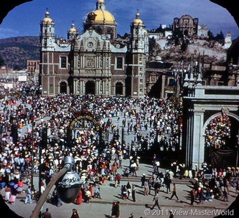 View-Master Mexico City (B002), Scene 15: Our Lady of guadalupe Shrine