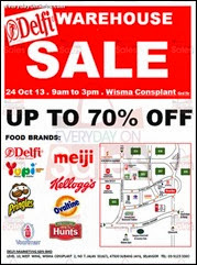 Delfi Marketing Warehouse Sale 2013 Malaysia Deals Offer Shopping EverydayOnSales