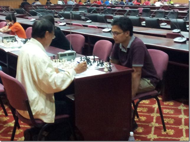 Kwan Nam Sang vs Mas Hafizulhelmi, round 2, UPSI Open 2012