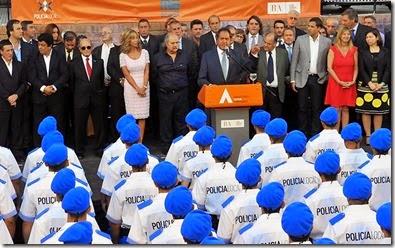 La Costa fue uno de los primeros distritos en acompañar la iniciativa de la Policía Local