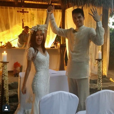 Bianca Gonzalez-JC Intal wedding via chekakramer on IG
