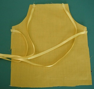doll apron step 7