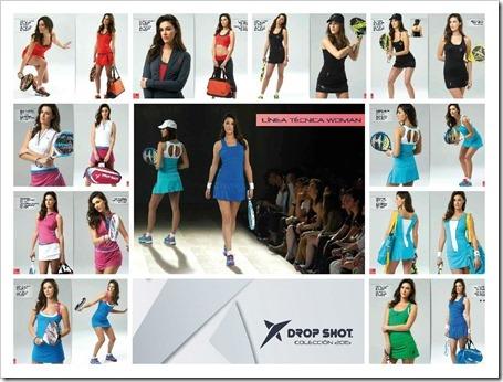 DROP SHOT 2015 Linea Textil Técnica para Mujer
