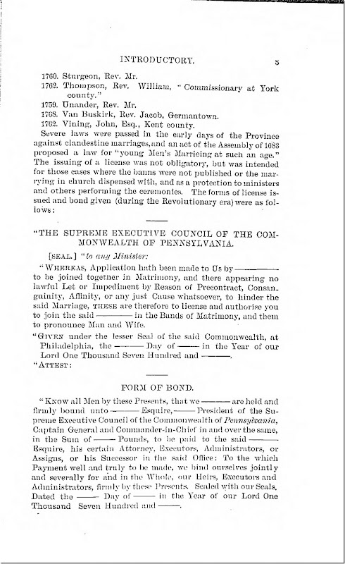 Pennsylvania Archives Series 2 Volume 2 Introduction Page 5