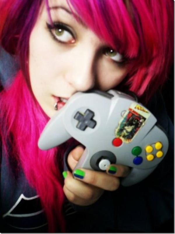 Lindas garotas viciados em video games (22)