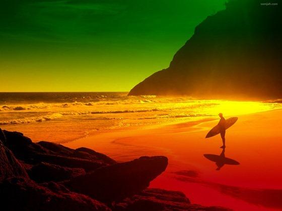 papel de parede surf reggae 01
