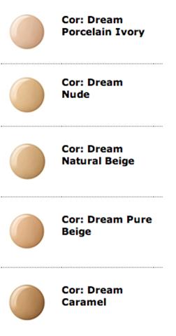 Cores Base Maybelline Viva Dream