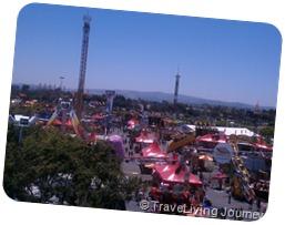 OC Fair from the cable Car