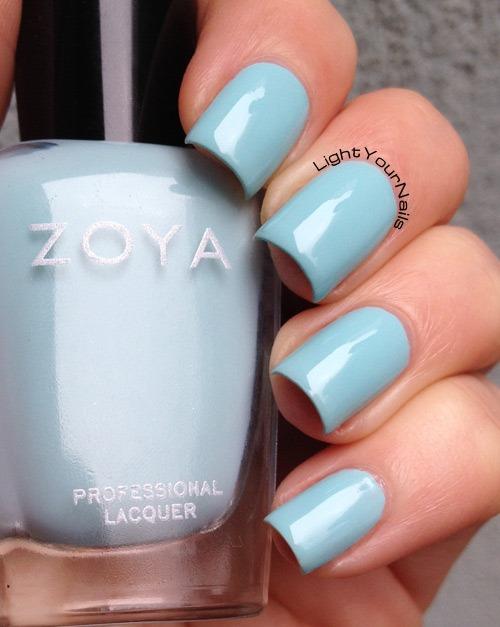 Zoya Lillian #lightyournails #pazzedizoya #EverydayZoya