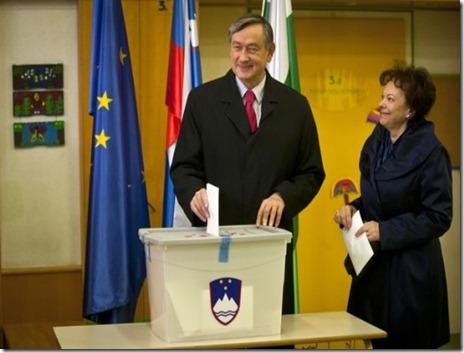 slovenian president votes