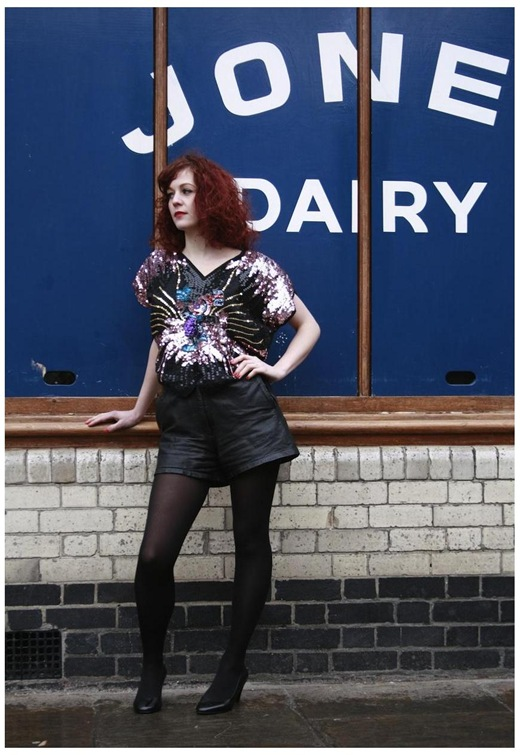 Vintage Sequin Top Mickey Mouse, £55, French Kiss Vintage