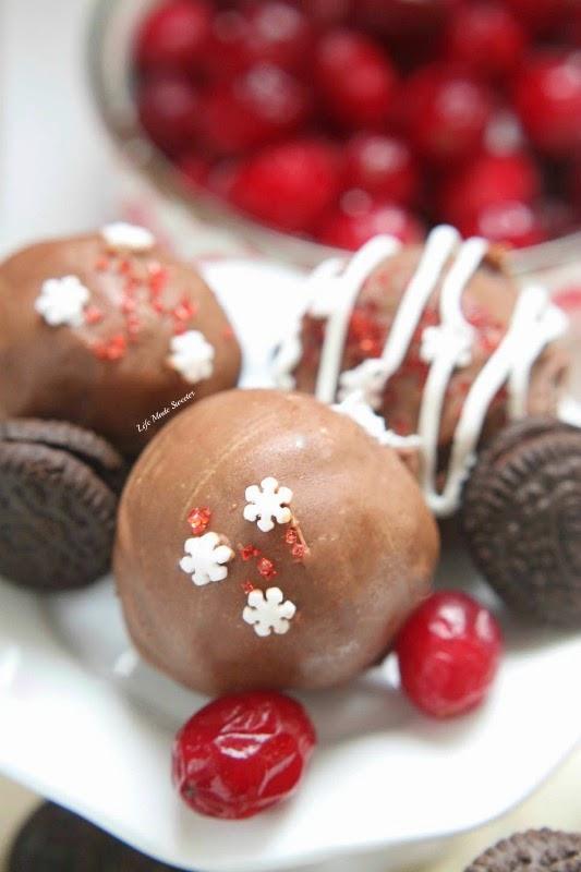 Cranberry Stuffed Oreo Truffles - @LifeMadesweeter.jpg