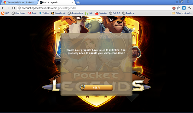 pocket legends chrome
