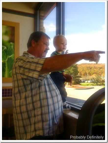 Everett & Great Uncle Randy