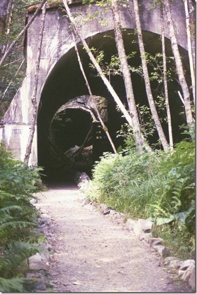 463161704 Concrete Arch at the Twin Tunnels on the Iron Goat Trail in 2007