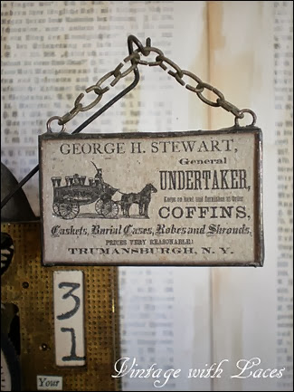 Gibbet Detail Undertaker Ad