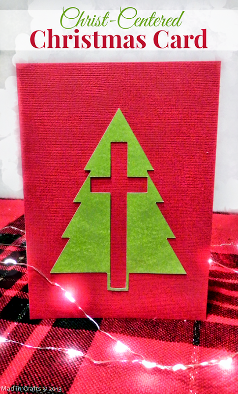 Christ-Centered Christmas Card