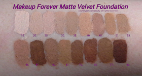 Makeup Forever Mat Velvet Foundation