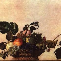 47 - Caravaggio - Cesta con frutas