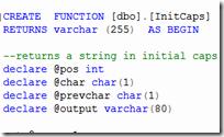 Deterministic SQL function