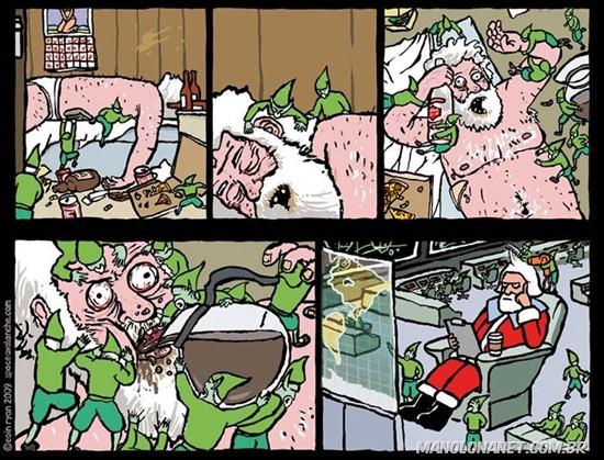 A Preparação do Papai Noel pro Natal
