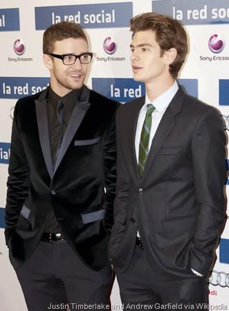 Justin Timberlake - Andrew Garfield - La red social - Madrid